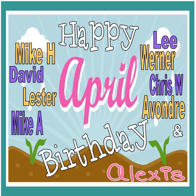 april bday