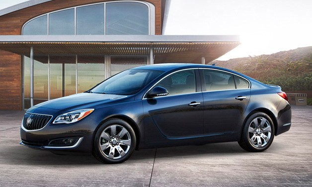 The beautiful 2014 Buick Regal
