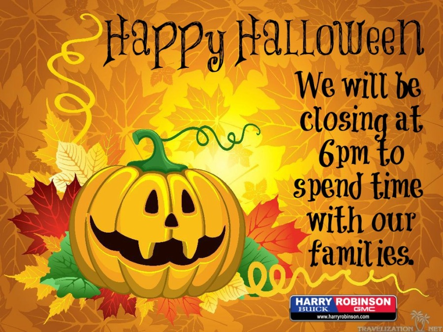 halloween closing