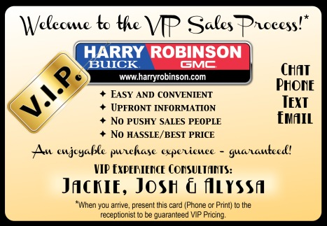 VIP Process card