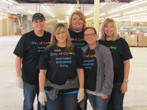 Tuesday was the United Way Day of Caring in the River Valley.