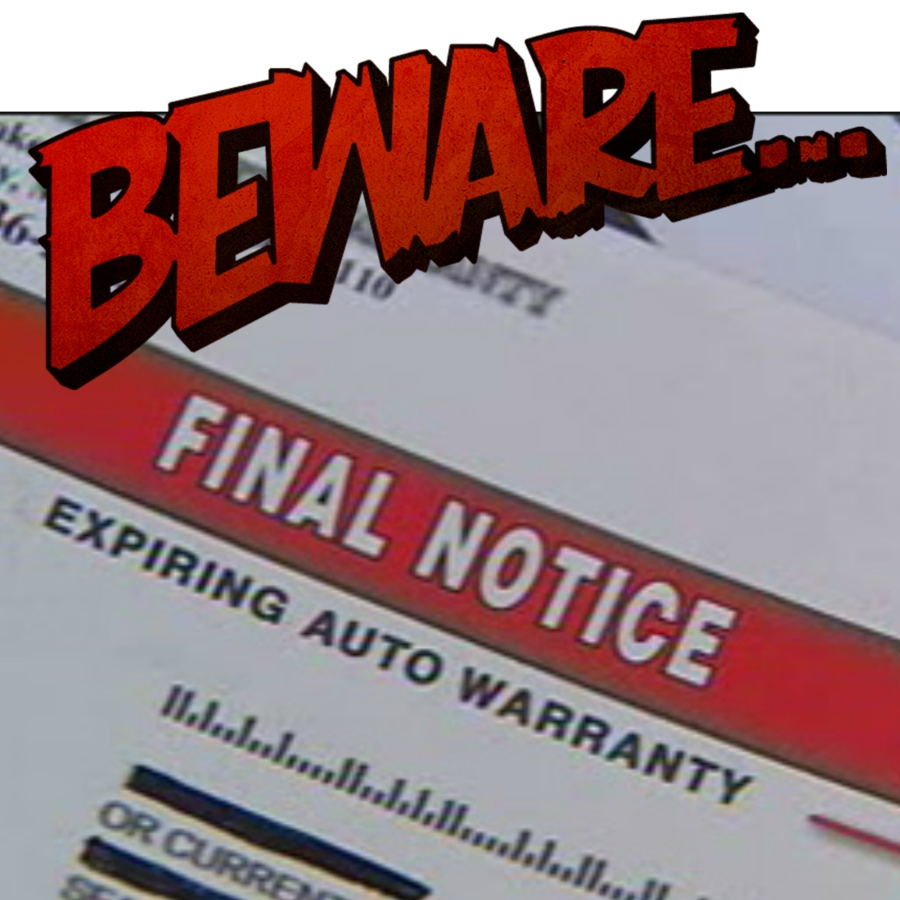 Third-Party Extended Auto Warranty Scams