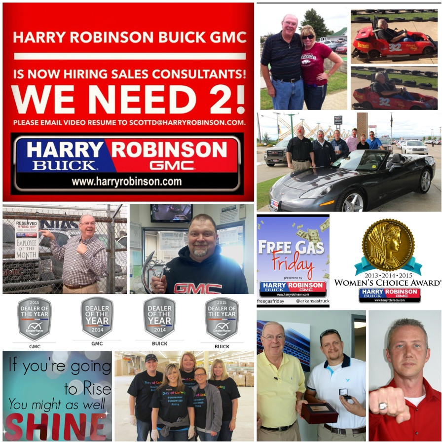 Hiring! Send resume to scottd@harryrobinson.com