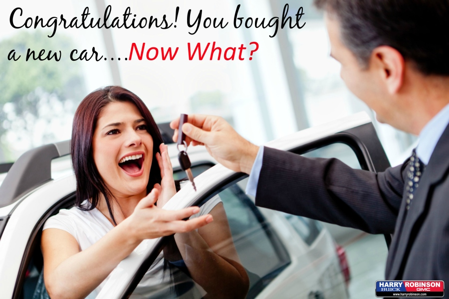 6 Things to Remember After You Buy a New Car