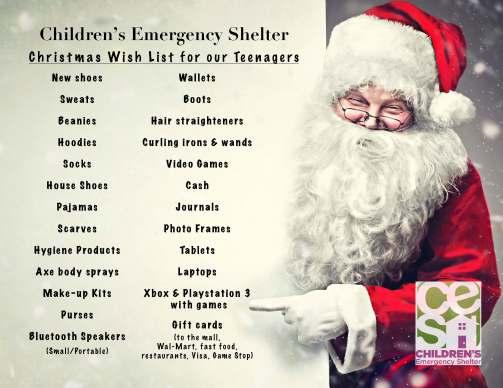 CES Christmas list